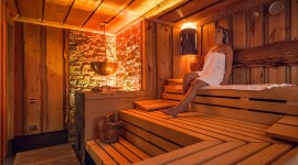 Herbal Sauna Wallpaper Background