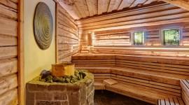 Herbal Sauna Wallpaper For IPhone 6 Download