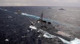 Japanese Navy Desktop Wallpaper