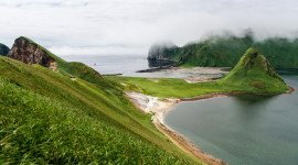 Kuril Islands Desktop Wallpaper For PC