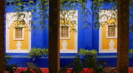 Majorelle Garden Wallpaper 1080p