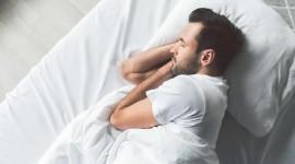 Man Sleeps Photo Download