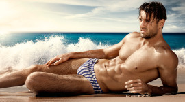 Man Swimsuit Photo