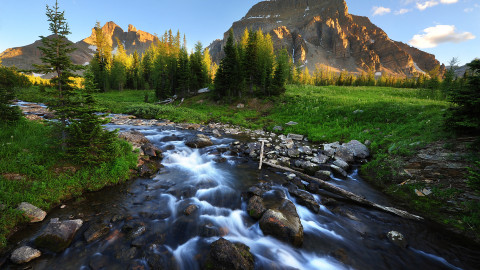 Mountain Stream wallpapers high quality