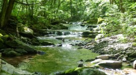 Mountain Stream Wallpaper Free
