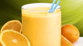 Orange Smoothie Wallpaper For Desktop