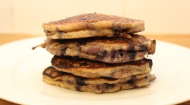 Pancakes With Fruits Desktop Wallpaper HD