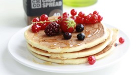 Pancakes With Fruits Wallpaper Download