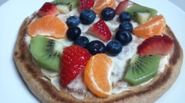 Pancakes With Fruits Wallpaper For Desktop