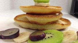 Pancakes With Fruits Wallpaper High Definition