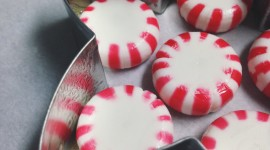 Peppermint Candies Wallpaper For IPhone Free