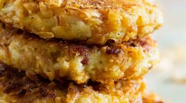 Potato Pancakes With Onions Wallpaper For IPhone