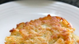Potato Pancakes With Onions Wallpaper For IPhone Free