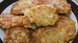 Potato Pancakes With Onions Wallpaper For PC