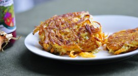 Potato Pancakes With Onions Wallpaper Gallery