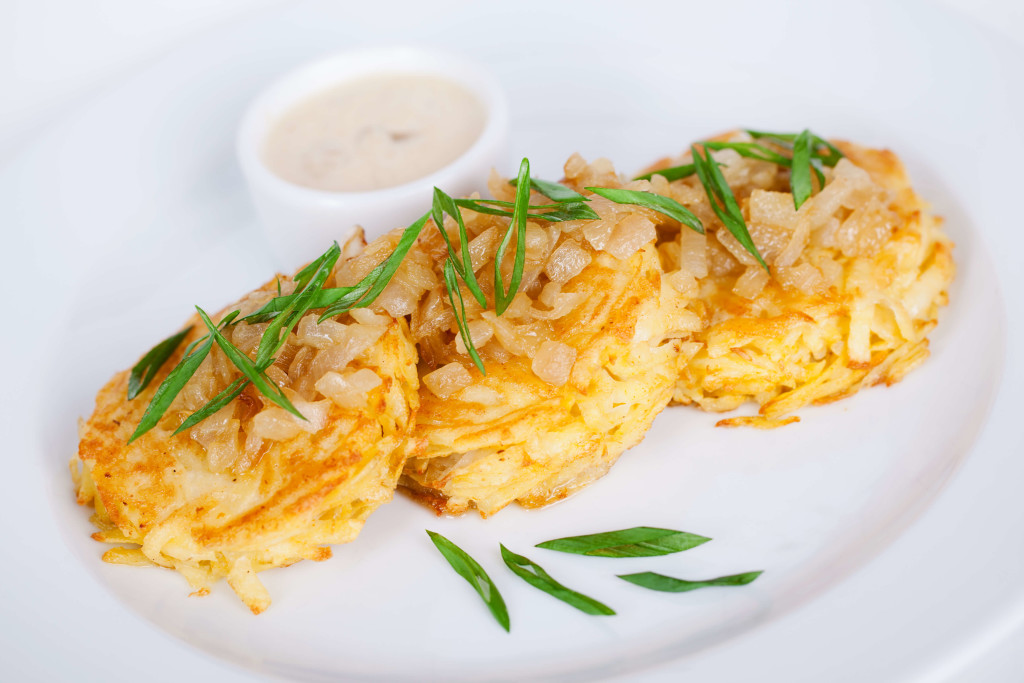 Potato Pancakes With Onions wallpapers HD