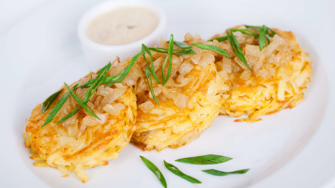 Potato Pancakes With Onions wallpapers high quality