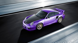 Purple Car High Quality Wallpaper