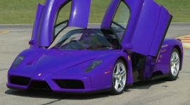 Purple Car Wallpaper Background