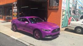 Purple Car Wallpaper Full HD