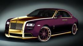 Purple Car Wallpaper HD