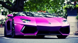 Purple Car Wallpaper High Definition
