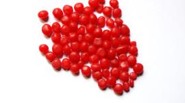 Red Lollipops Desktop Wallpaper HD
