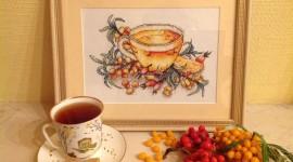 Sea Buckthorn Tea Wallpaper Background