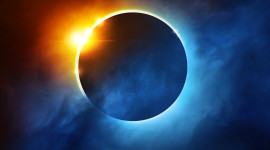 Solar Eclipse Wallpaper For IPhone