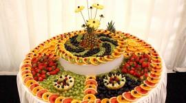 Table Fruit Wallpaper