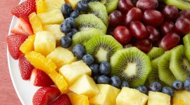 Table Fruit Wallpaper For IPhone Free