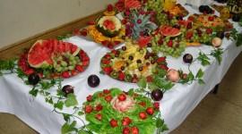 Table Fruit Wallpaper For PC