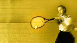 Tennis Girl Aircraft Picture
