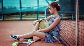 Tennis Girl Wallpaper