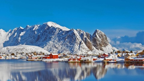 The Lofoten Islands wallpapers high quality