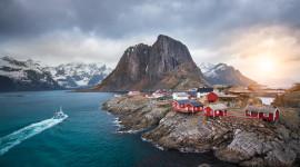 The Lofoten Islands Wallpaper Full HD