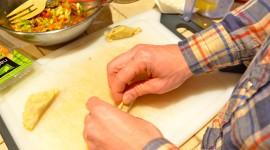 Vegetarian Dumplings Wallpaper