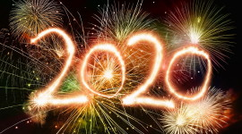 Year 2020 Wallpaper Full HD