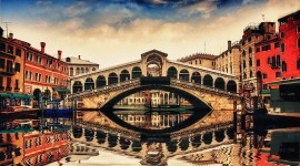 4K Bridge Venice Image