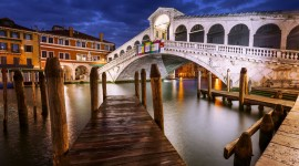 4K Bridge Venice Photo Free