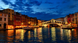 4K Bridge Venice Wallpaper For PC
