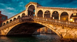 4K Bridge Venice Wallpaper Free