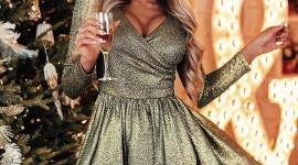 4K Christmas Dresses Wallpaper For Android#1