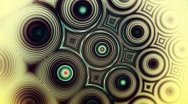 4K Fractal Multicolored Image