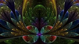 4K Fractal Multicolored Image Download