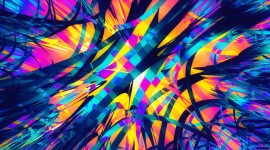 4K Fractal Multicolored Wallpaper For IPhone