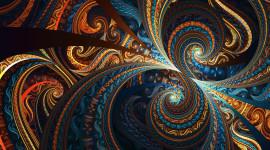 4K Fractal Multicolored Wallpaper HQ