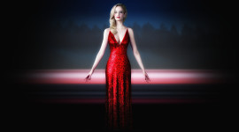 4K Red Dress Wallpaper Gallery