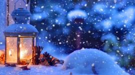 4K Winter Lantern Aircraft Picture