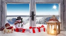 4K Winter Lantern Best Wallpaper